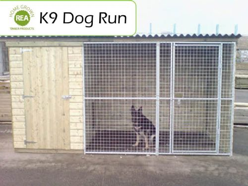 K9 Dog Run (12ft x 6ft x 6ft)